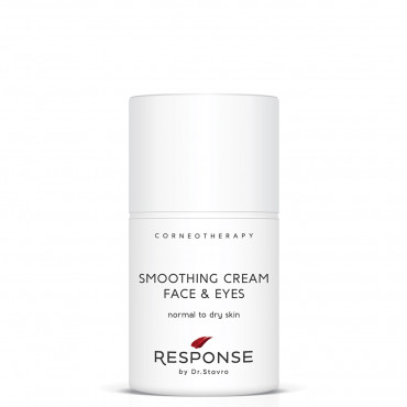 Smoothing cream for face & eyes